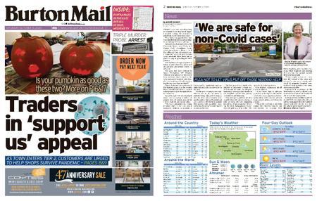 Burton Mail – October 31, 2020