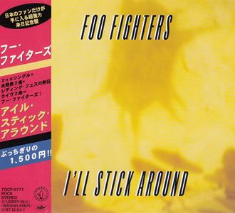 Foo Fighters - I'll Stick Around (Japan CD5) (1995) {Roswell/Capitol/Toshiba EMI Japan}