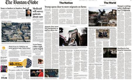 The Boston Globe – January 15, 2019