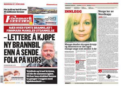 Finnmark Dagblad – 17. juni 2019