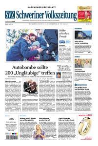 Schweriner Volkszeitung Hagenower Kreisblatt - 01. Dezember 2018
