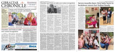 Gibraltar Chronicle – 02 November 2020