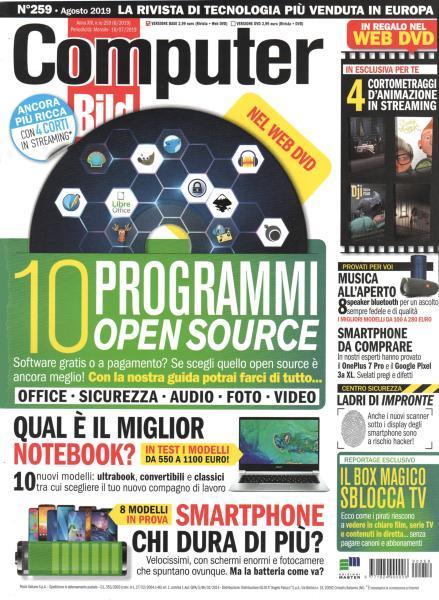 Computer Bild Italia - Agosto 2019