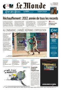 Le Monde du Vendredi 3 Août 2018