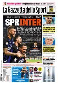 La Gazzetta dello Sport Roma – 26 settembre 2018