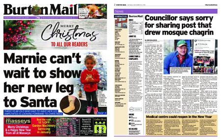 Burton Mail – December 24, 2018