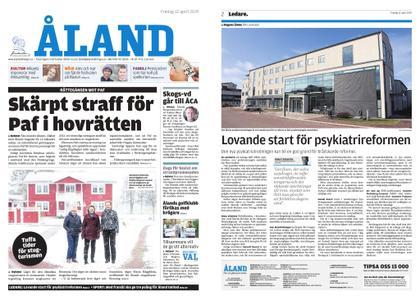 Ålandstidningen – 12 april 2019