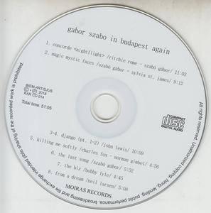Gabor Szabo - Gabor Szabo In Budapest Again (2018) {Kept Alive Records KARCD014 rec 1978, 1981}
