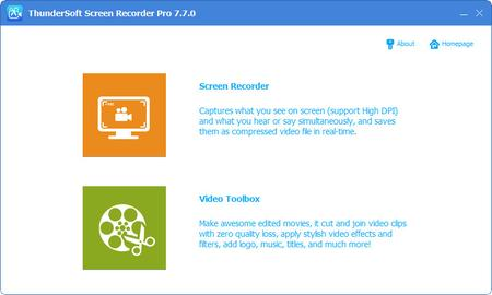 ThunderSoft Screen Recorder Pro 10.0.0