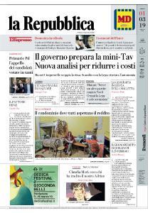 la Repubblica - 1 Marzo 2019