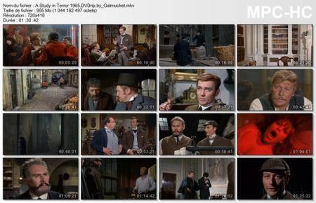 A Study in Terror / Sherlock Holmes contre Jack l'Eventreur (1965)