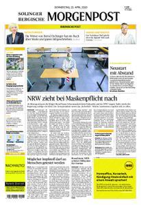 Solinger Morgenpost – 23. April 2020