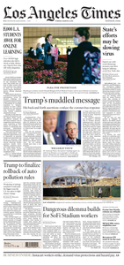 Los Angeles Times – March 31, 2020