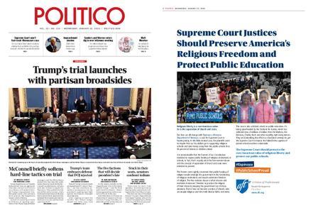 Politico – January 22, 2020