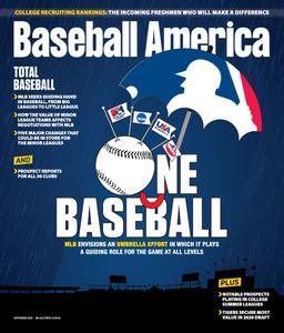 Baseball America - September 01, 2020