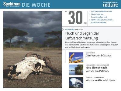 Spektrum Die Woche No 30 vom 25 Juli 2013