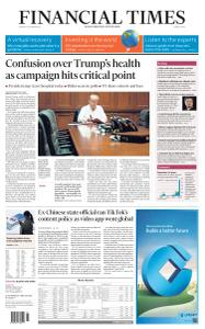 Financial Times Middle East - October 5, 2020