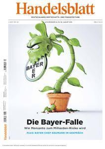 Handelsblatt - 24. August 2018