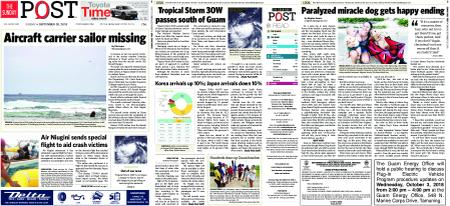 The Guam Daily Post – September 30, 2018