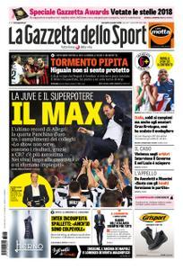 La Gazzetta dello Sport Roma – 13 novembre 2018