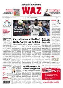 WAZ Westdeutsche Allgemeine Zeitung Oberhausen-Sterkrade - 07. September 2018