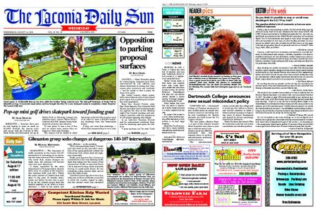 The Laconia Daily Sun – August 13, 2019