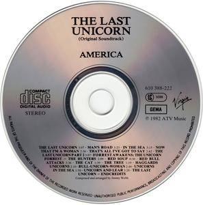 Jimmy Webb & America - The Last Unicorn: Original Soundtrack (1982) [Re-Up]