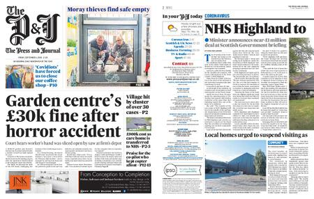 The Press and Journal Moray – September 04, 2020