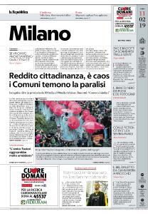 la Repubblica Milano - 11 Febbraio 2019