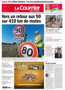 Le Courrier de l'Ouest Angers – 15 février 2020