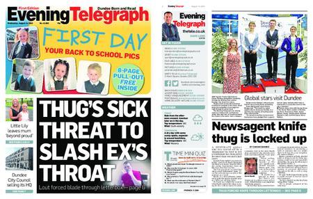 Evening Telegraph First Edition – August 14, 2019