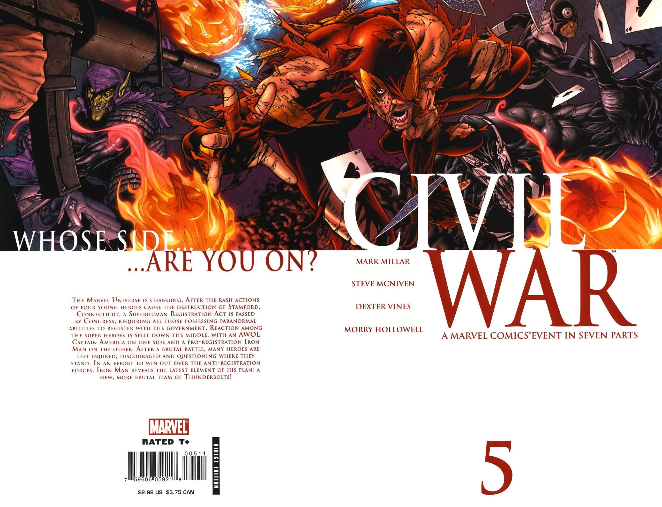 Civil War 05 of 7