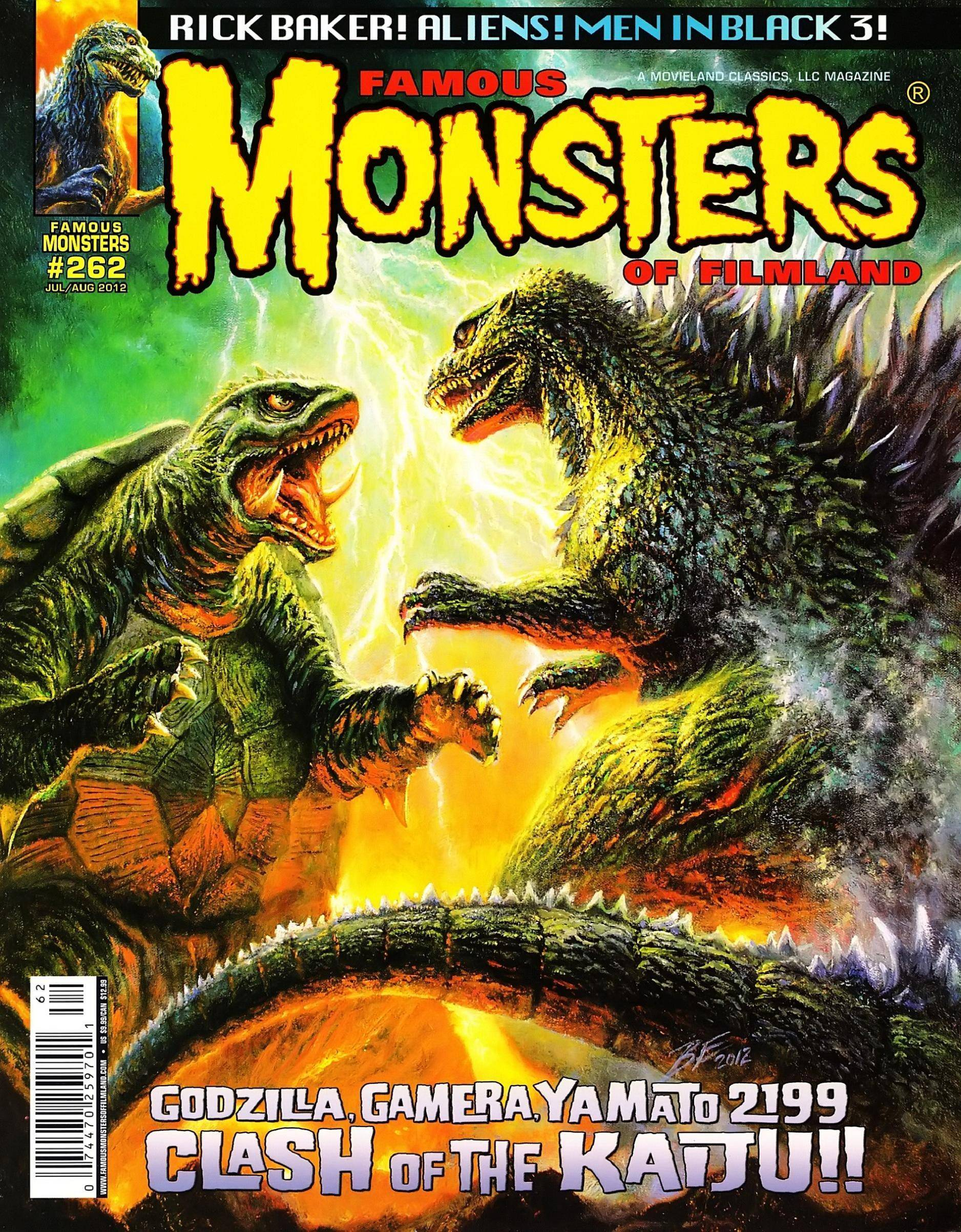 Famous Monsters of Filmland 262 2012