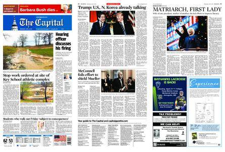 The Capital – April 18, 2018