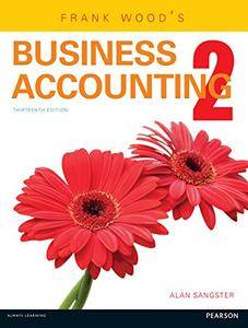 Frank Wood's Business Accounting: Volume Two: 2