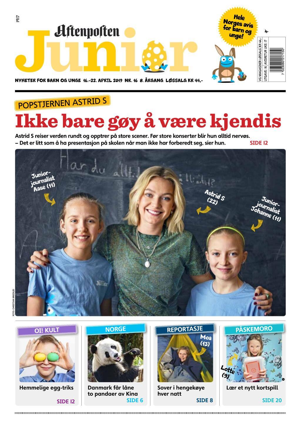 Aftenposten Junior – 16. april 2019