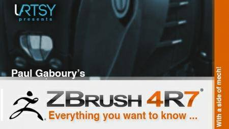 ZBrush4R7 Everything You Want To Know…with a side of mech