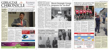 Gibraltar Chronicle – 09 October 2020