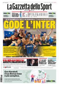 La Gazzetta dello Sport Sicilia – 18 gennaio 2021