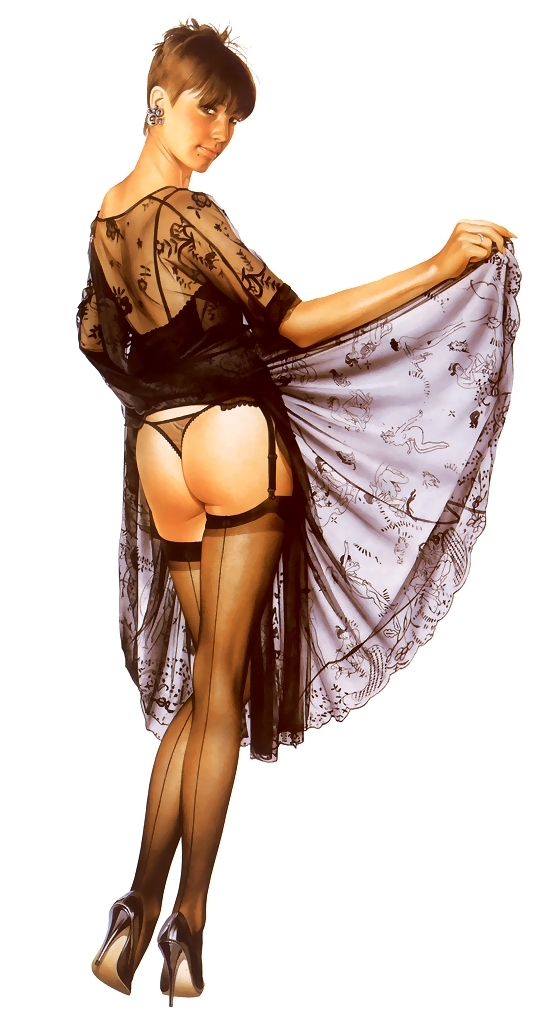Pin-up & fantasy art by Brian Rood