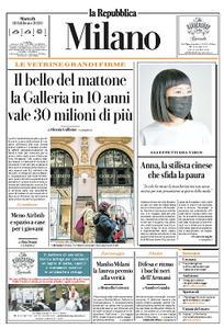 la Repubblica Milano - 18 Febbraio 2020