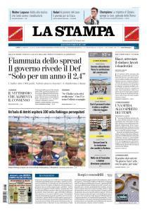 La Stampa Torino Provincia e Canavese - 3 Ottobre 2018