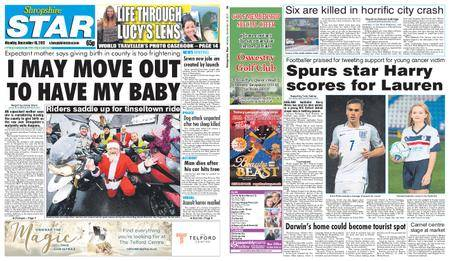 Shropshire Star Shrewsbury Edition – December 18, 2017