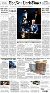 The New York Times – 22 September 2021