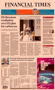 Financial Times Europe – 27 January 2020