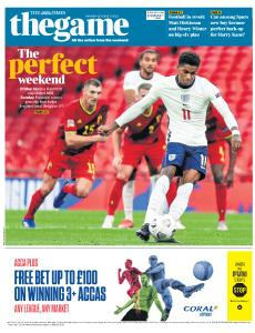 The Times - The Game - 12 October 2020