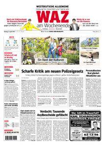 WAZ Westdeutsche Allgemeine Zeitung Oberhausen-Sterkrade - 21. April 2018