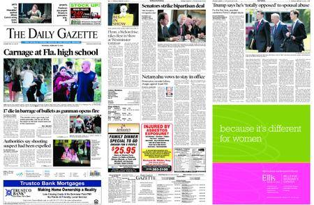 The Daily Gazette – February 15, 2018