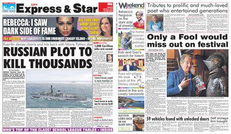 Express and Star City Edition – January 27, 2018