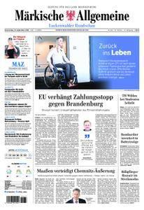 Märkische Allgemeine Luckenwalder Rundschau - 13. September 2018